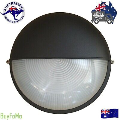 LED compatible round eyelid outdoor wall mounted Bunker house light