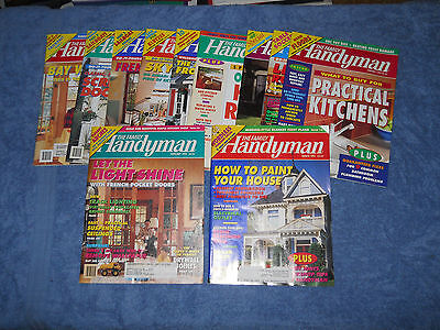 Lot of 20 The Family Handyman magazines back issues set 1994 1995 repair guide