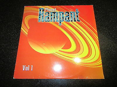PLANET RAMPANT 2 x LP PAUL GROGAN MR FUNKSTER IMMIGRANT HOUSEBOUND TRANCE