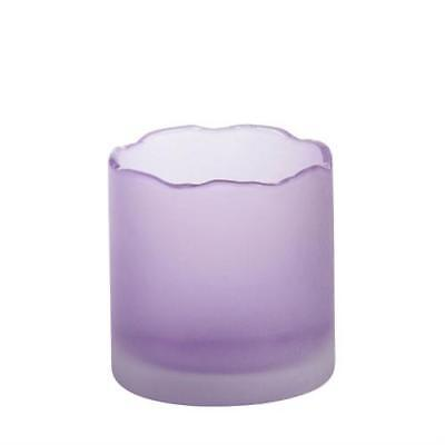 Yankee Candle Tranquility Purple Sampler / Votive Holder FREE P&P