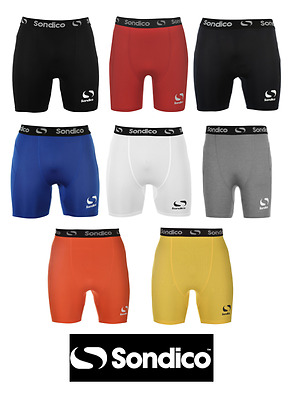 Mens Branded Sondico Core 6 Compression Fit Base Layer Shorts S-M-L-XL-XXL-XXXL