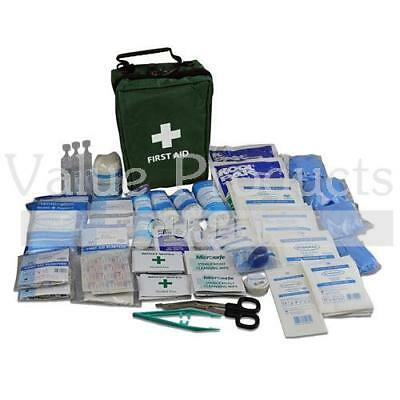 195 Piece Ultimate Comprehensive Medical Emergency First Aid Kit in Green Bag