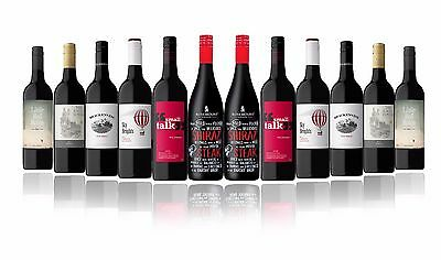 Australian Red Mixed Carton Featuring Rosemount Shiraz (12x750ml)