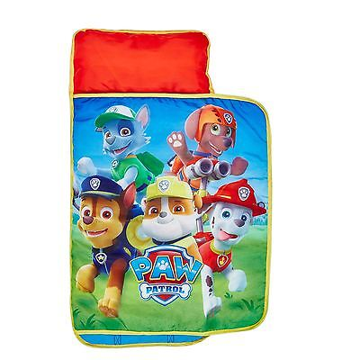 Paw Patrol Cosy Wrap Nap Bed Childrens Ready Bed Official New