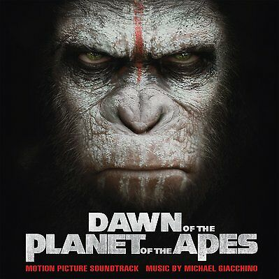 MICHAEL GIACCHINO Dawn Of The Planet Of The Apes 2 x 180gm SILVER Vinyl LP NEW