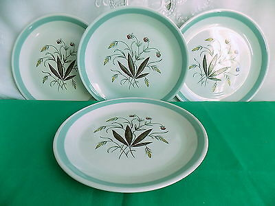 Alfred Meakin Hedgerow Dinner Plates x 4