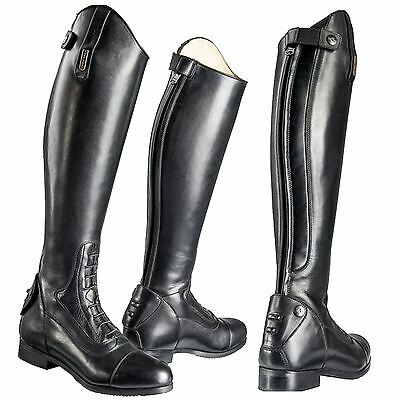 Equi-Theme Ladies Competition Tall Boots With Laces Extra Narrow Field (Laced)