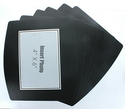 """6 Photo Mouse Pads Custom 4"""" x 6"""" Picture Insert Frame"""