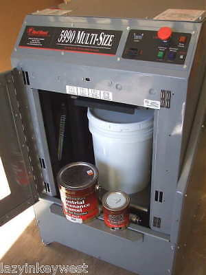 Remanufactured Red Devil 5990 - 5-Gal Auto Platform Paint Shaker with warranty