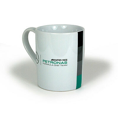 Mercedes AMG Petronas F1 Team Mug White Tea Coffee Cup