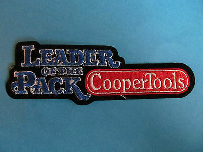 Vintage Cooper Tools Leader Of The Pack Uniform Coveralls Work Shirt Patch Crest
