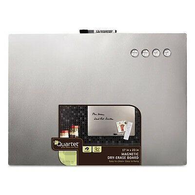 Quartet Magnetic Dry Erase Board With Stainless Steel Finish - 79245