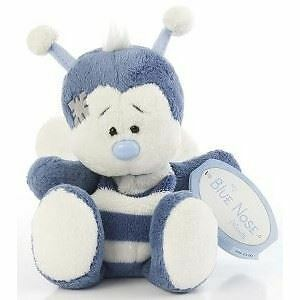"""4"""" My Blue Nose Friends Honey the Bee No. 28 - Plush Soft Toy"""