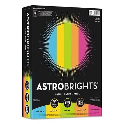 "Astrobrights Color Paper -""bright"" Assortment - 99608"
