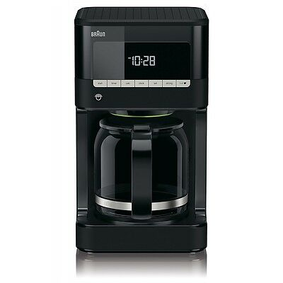 Braun Domestic Home KF 7020 PurAroma 7 Schwarz Filter-Kaffeemaschine 1000 W