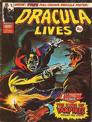 DRACULA LIVES COLLECTION OF 1970s HORROR COMICS ON DVD