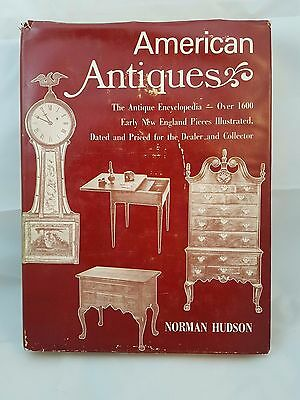 American Antiques Norman Hudson Book Americana Encyclopedia Reference