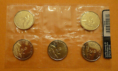 2012 Canada $1 Circulation 5-Pack - Lucky Loonie