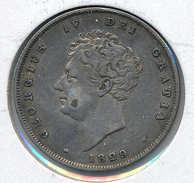 Great Britain Shilling 1829 - VF