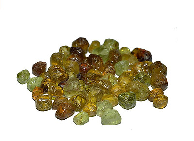 Green Garnet Lot Rough 100% Clean Material For Faceting Mali 181.7 Carats
