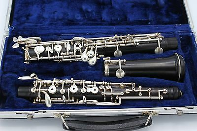 GORDET GERMAN FULL Conservatory Professional Oboe with left F & 3rd Oct Key