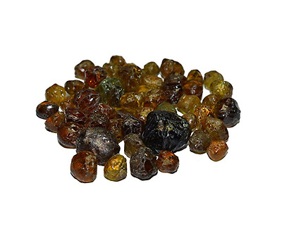 Gorgeous Grossular Garnet Lot Rough 100% Clean Mali Faceting Material 140 Carats