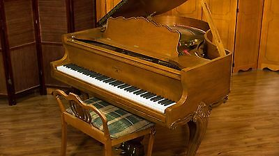 Sohmer Art-Case Baby Grand Piano - Made in USA