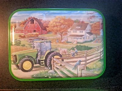 John Deere Coasters with Tin
