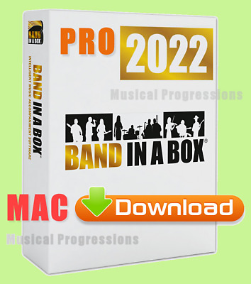 Band In A Box 2017 Pro Mac - Digital - Audio Music Software - New Full Retail