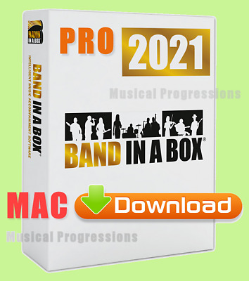 Band In A Box 2018 Pro Mac - Digital - Audio Music Software - New Full Retail
