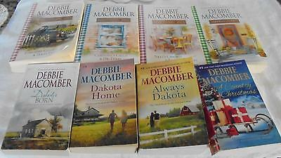 Debbie Macomber Heart of Texas AND Buffalo Valley Series Complete Books Lot!