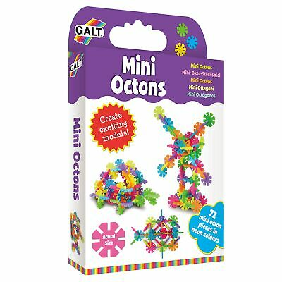GALT Toys Childrens / Kids 72 Piece Mini Octons Construction Kit - 4+ Years