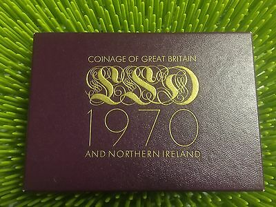 1970 Coinage of Great Britain and Northern Ireland Proof Set