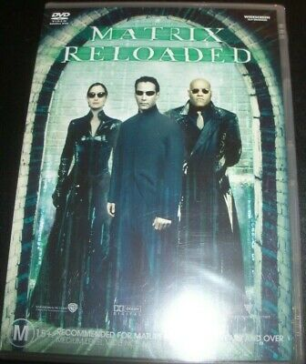 The Matrix Reloaded (Keanu Reeves Laurence Fishburne) (Aust Reg 4) DVD – New
