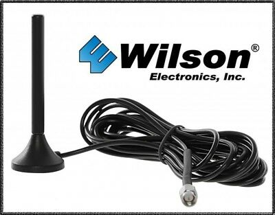 "NEWEST Wilson 301126 4"" SMA Male Mini MagMount 50 Ohm Omni-Directional Antenna!"