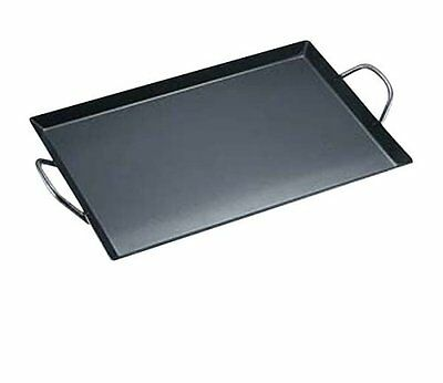Captain stag BBQ iron plate Eiger griddle M-6571 Outdoor Camping Hiking Cookware