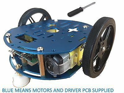 Feetech FT-DC-006 Aluminium Arduino Robot Chassis with FT-SMC-2CH drive pcb