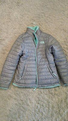 The North Face Girls Mossbud Reversible Jacket Sz L, Large ,14-16
