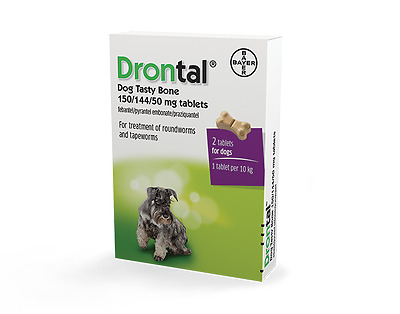 Bayer Drontal Tasty Plus Flavour Free Shipping Sale price packing 2-24 tablets