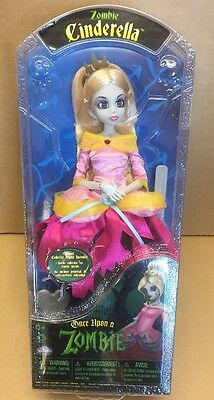 Once Upon A Zombie Cinderella Doll BNIB Fairy Tale Princess Toy Collector Stand