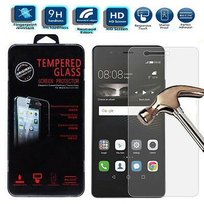 Genuine Clear Real HD 9H Invisible Tempered Glass Screen Protector For Huawei