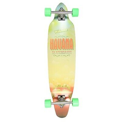 Havana Kicktail Cruiser Islands Longboard - Cheap Complete Wooden Longboard