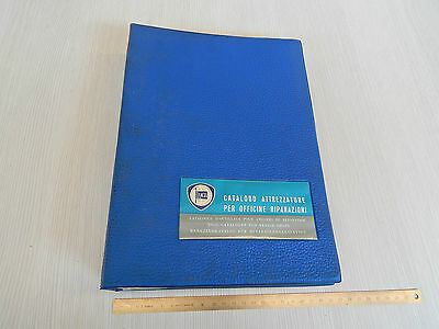 Catalogo Attrezzature Officina Originale Lancia 1967 68 Fulvia Flavia Flaminia