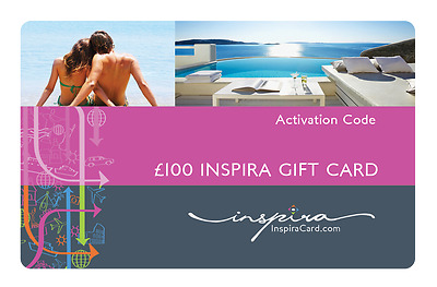 Inspira Gift Card, Pay £40 for a Gift Value of £100