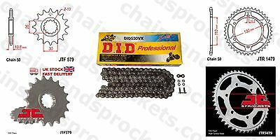 DID X Ring Chain Kit 17/47t 530/120 fit Yamaha YZF R1 (14B,1KB) 09-14