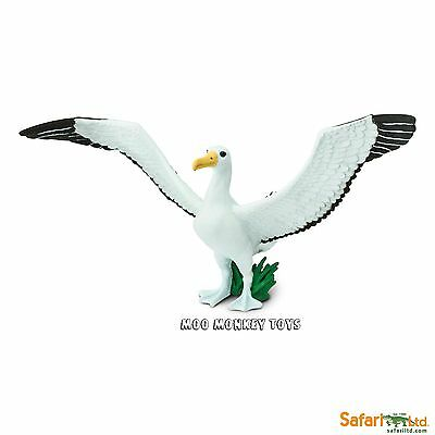GIANT ALBATROSS  Safari Ltd 150729 Wings of The World BIRD Replica      NEW 2017