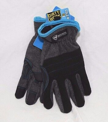 West Chester Dirty Work Cold Weather Fleece Glove Gloves 96110 Large NEW