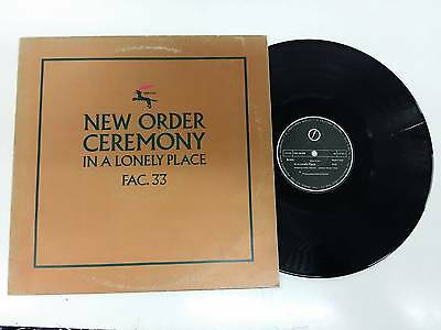 New Order Ceremony - In A Lonely Place 12'' Maxi Single 1981