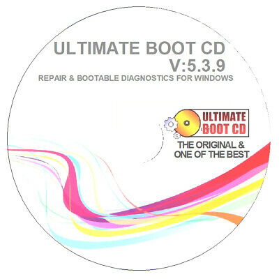 Ultimate Boot CD -  Computer & Laptop Recovery Restore Fix Repair Boot Disc
