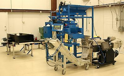 Autobag Weigh-Fill Automatic Packaging System w/Conveyors